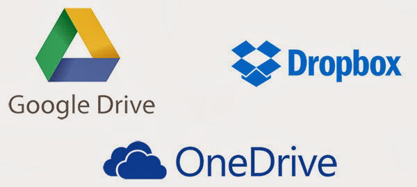 Don't risk losing a physical drive. Instead, upload your files to a secure online file storage application.