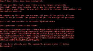 The Bad Rabbit ransomware encrypts computer files and requires a Bitcoin ransom payment for the release of those files.